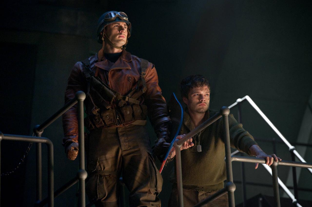 Captain America confronte Crane Rouge