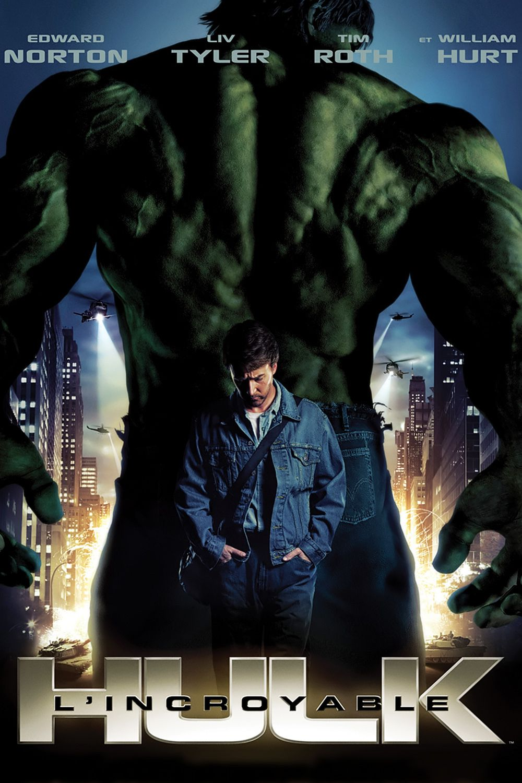 Affiche incroyable hulk 02
