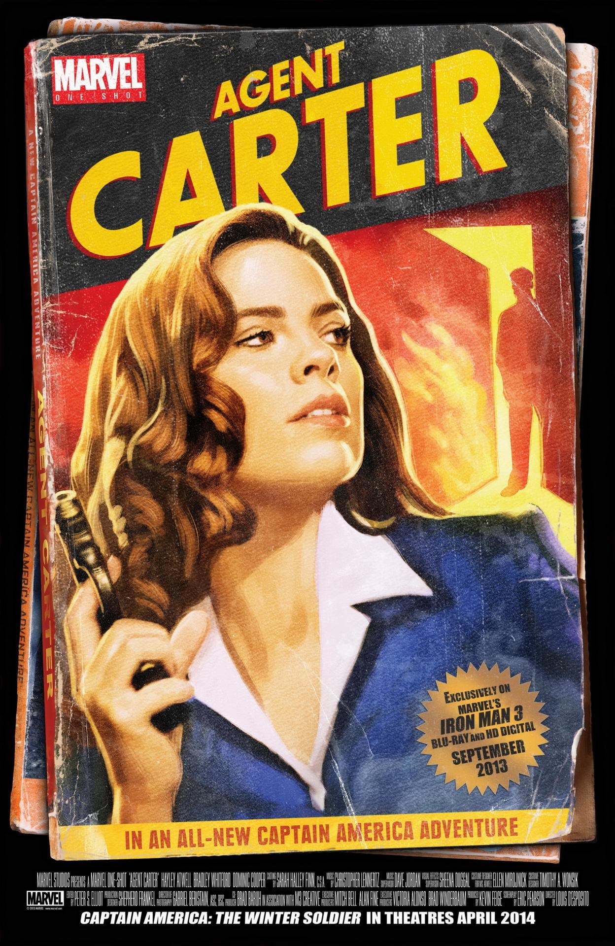 Agentcarter oneshot poster