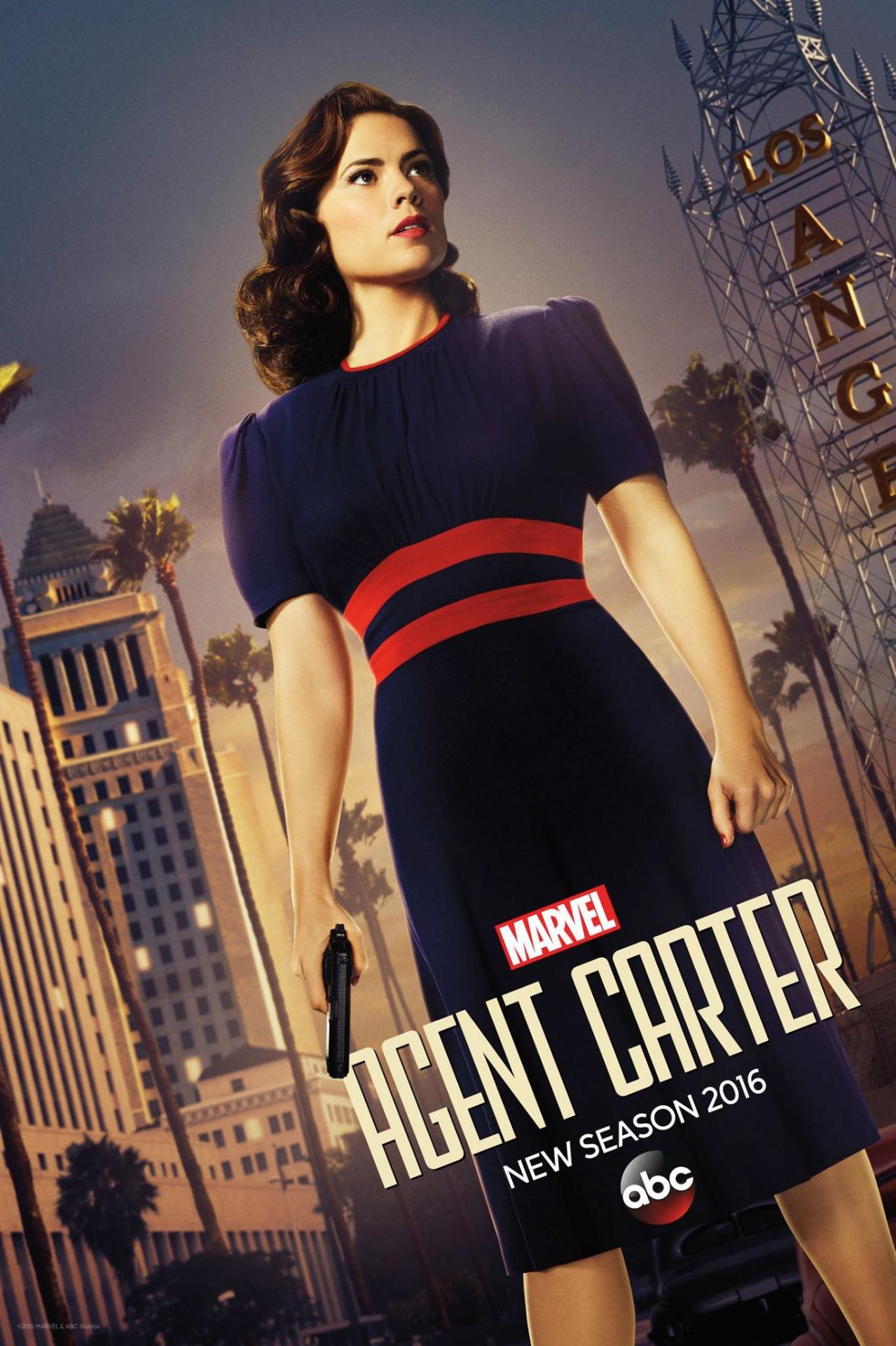 Agentcarter s2 poster