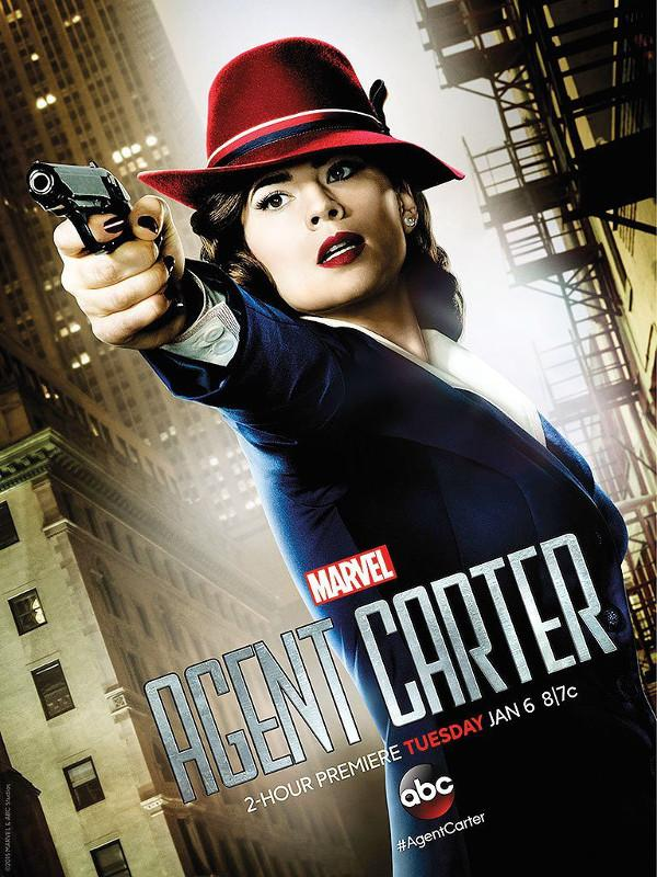 Agentcarters1 poster