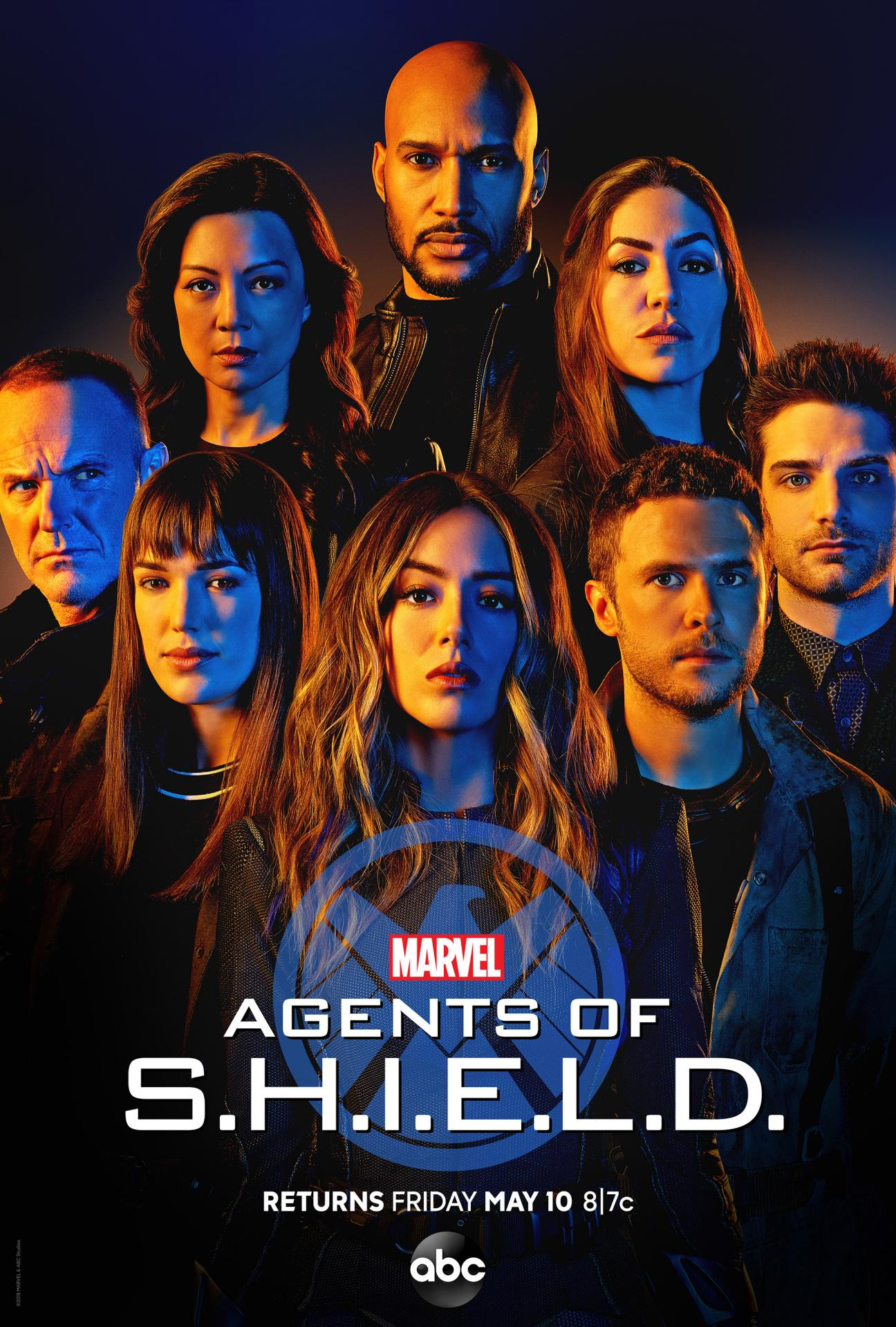 Agents of s h i e l d season 6 poster
