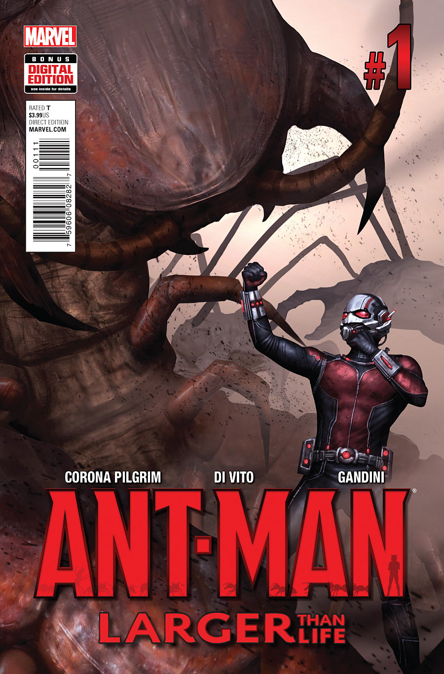 Ant man larger than life