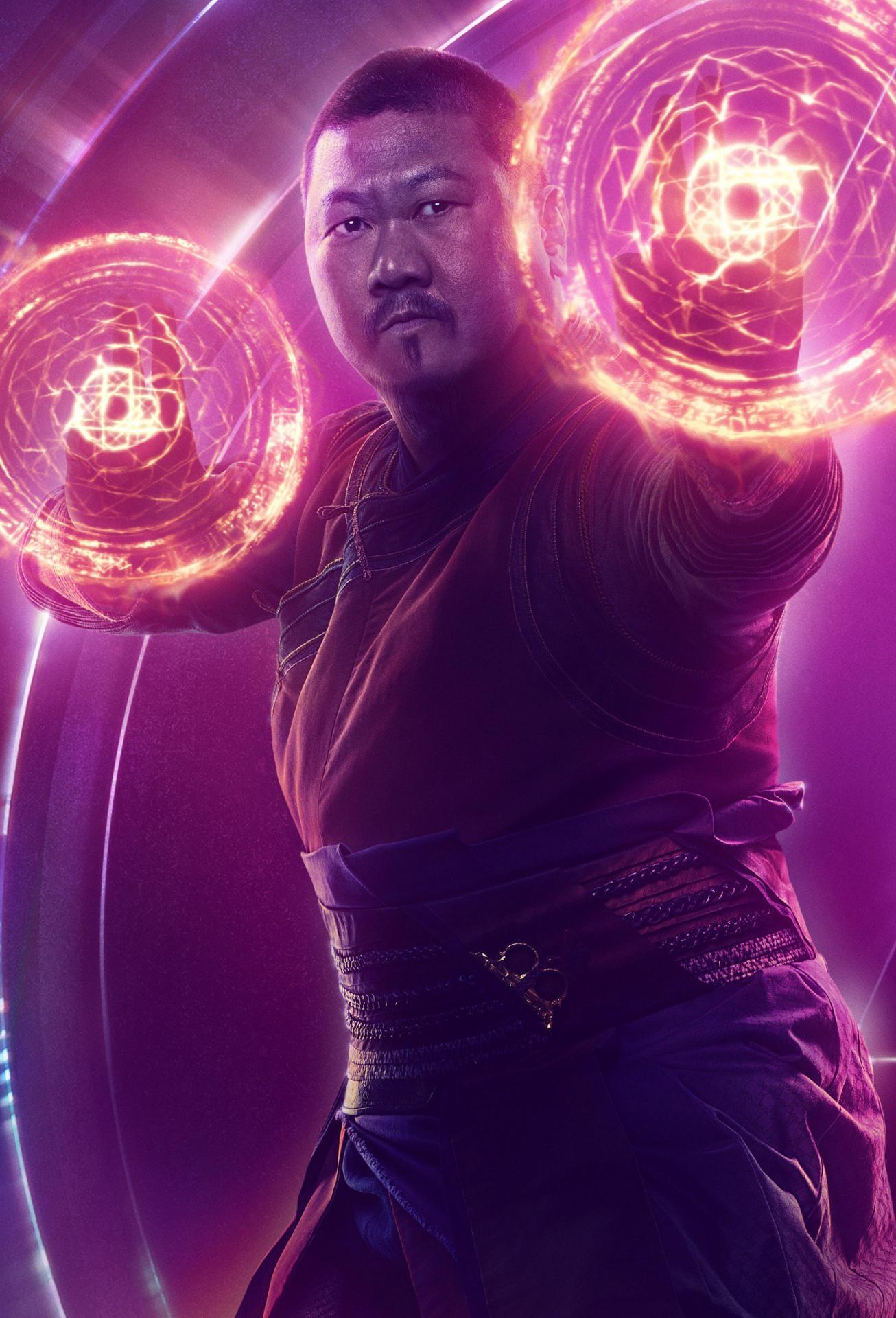 Avengers infinity war wong poster
