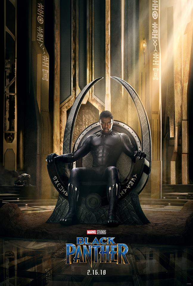 Black panther official poster 1