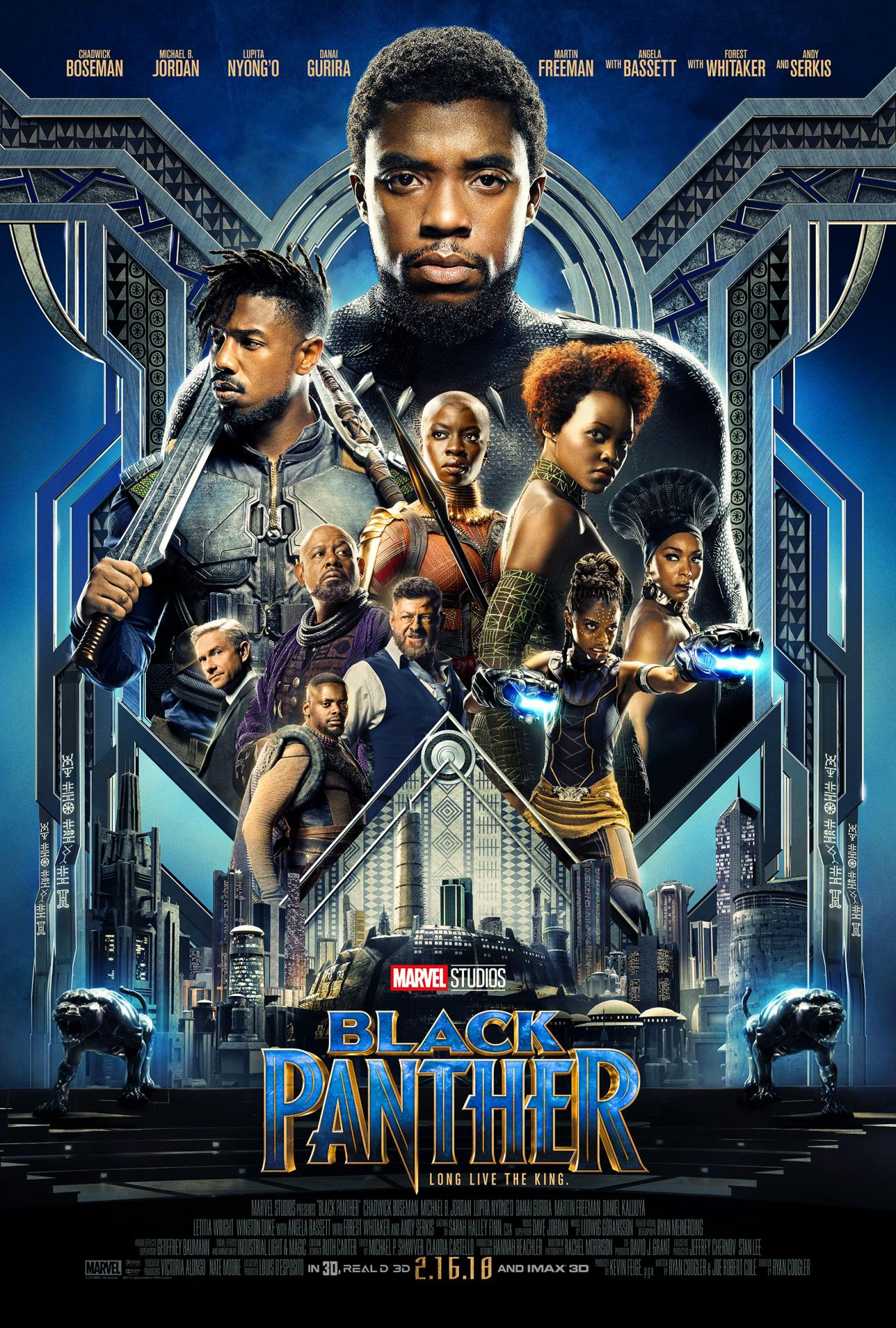 Black panther poster october 2017