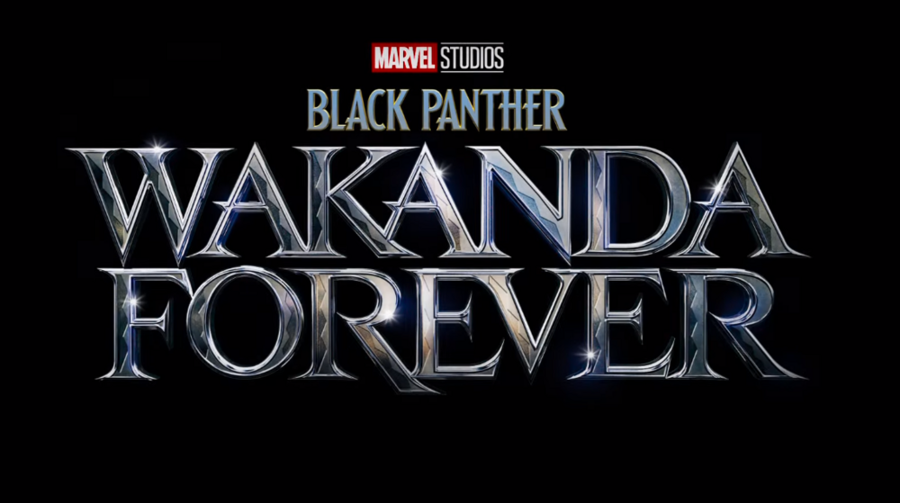 Black panther wakanda forever logo