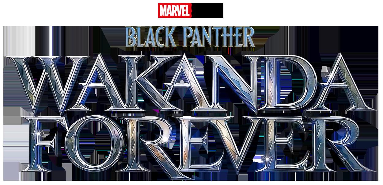 Blackpantherwakandaforeverv1 logo noir