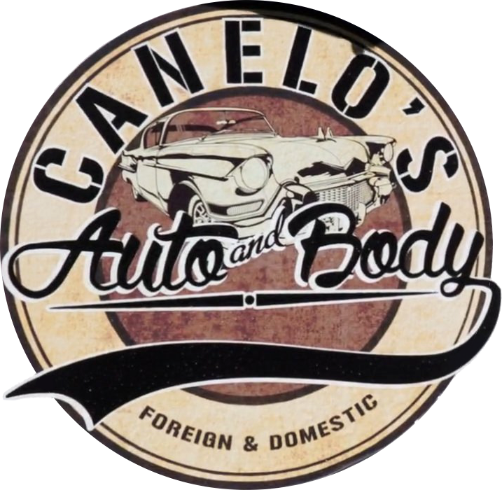 Canelo s auto and body logo