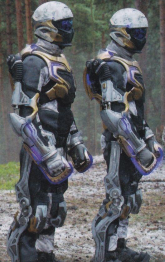 Chitauri armor aou