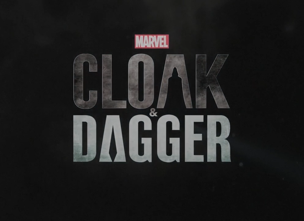 Cloak and dagger title card