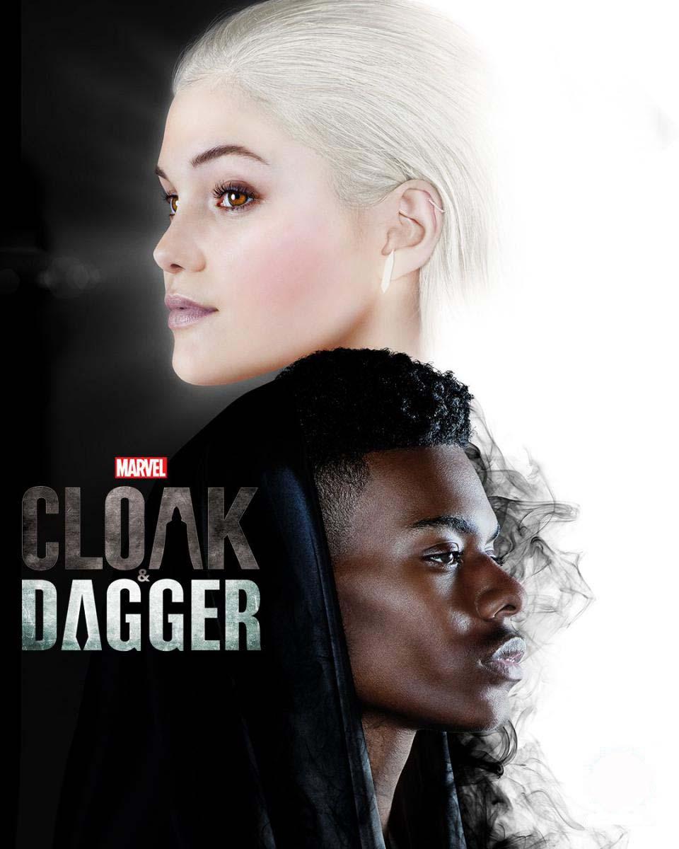 Cloak dagger affiche