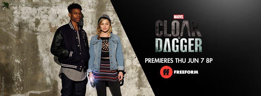 Cloak dagger