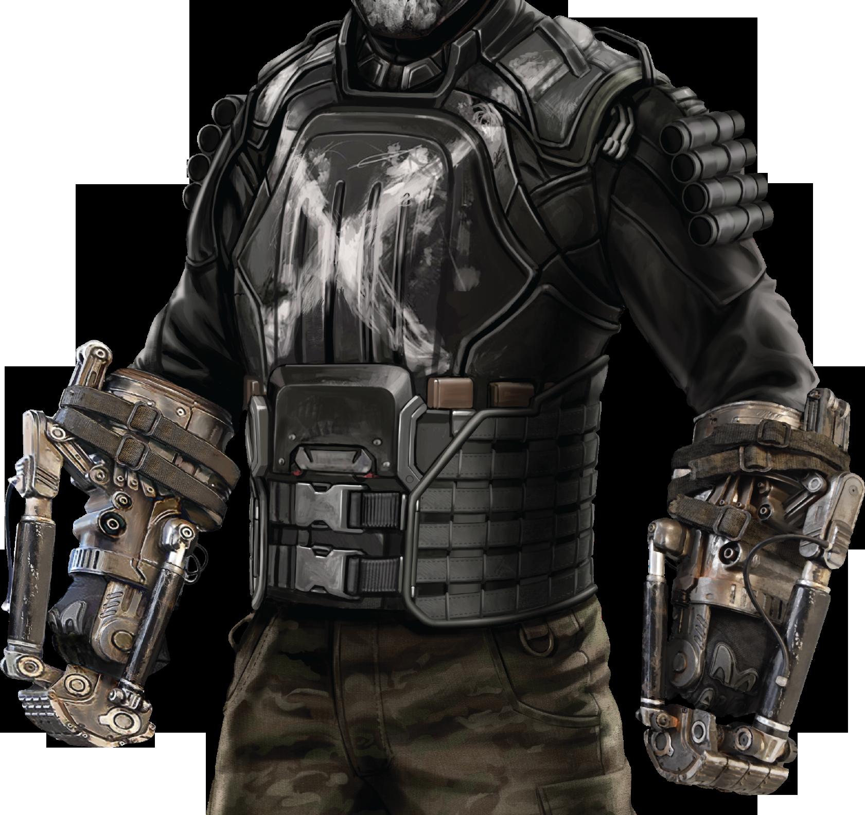 Crossbones battlefield suit