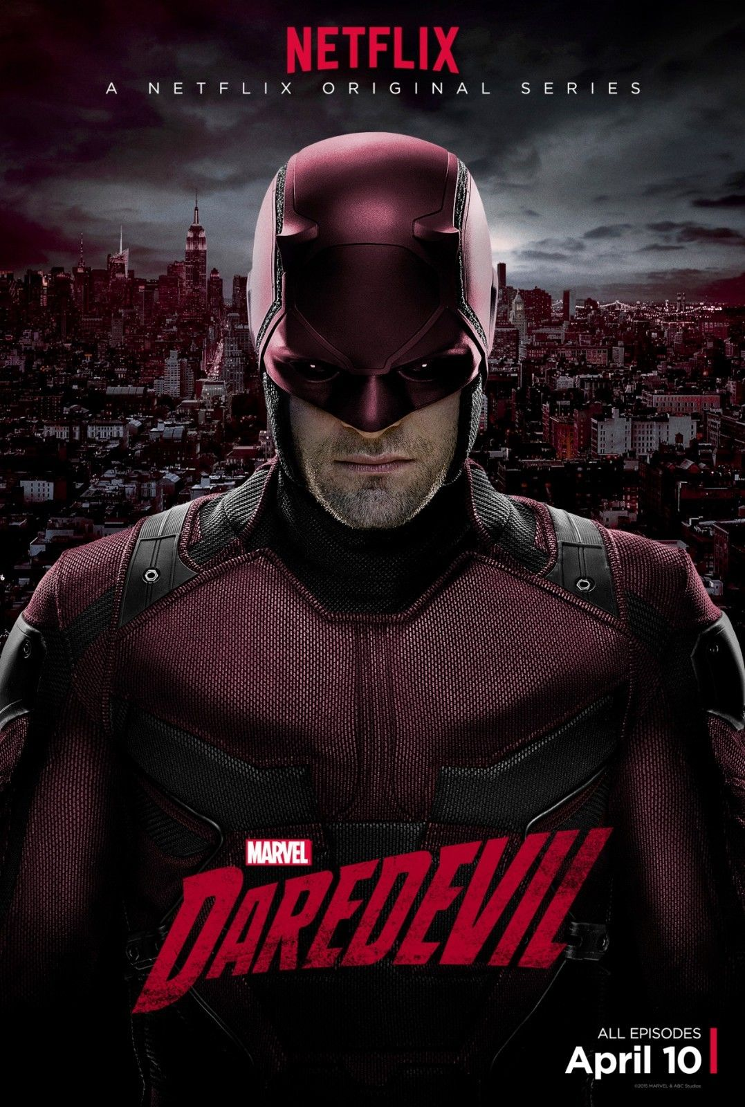 Daredevil tv show poster avengers x men batman