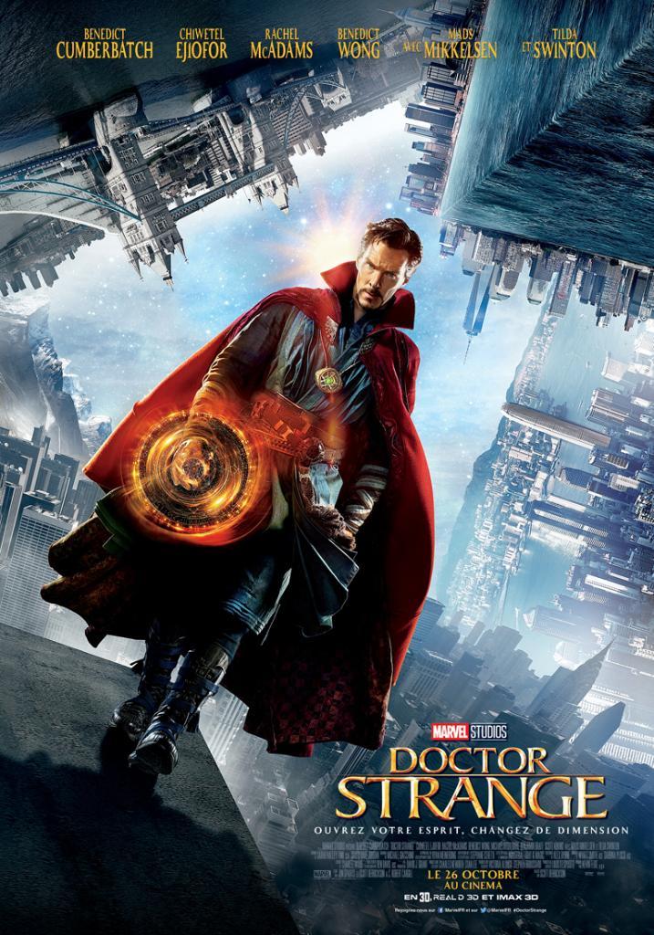 Doctor strange affiche francaise finale