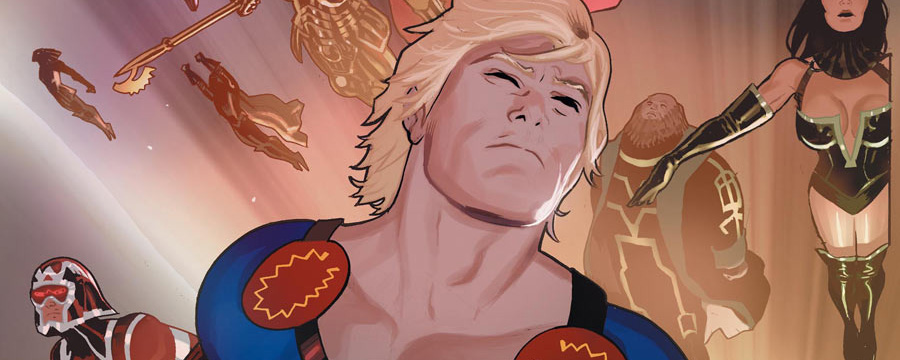 Eternals vol 4 1 textless
