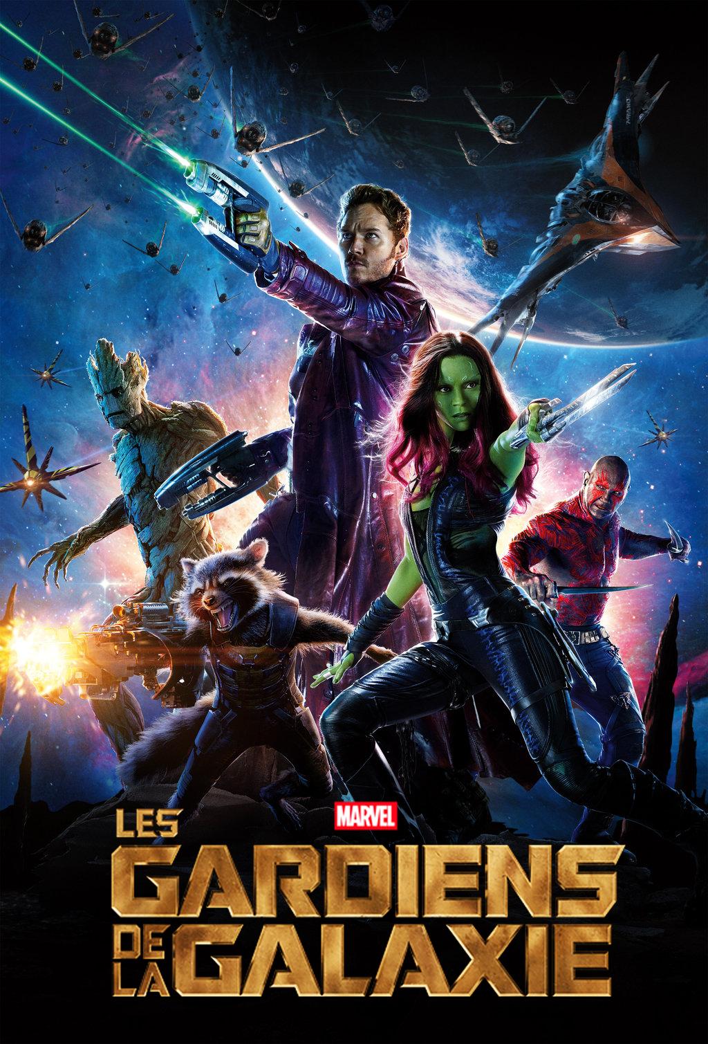 Gardiens de la galaxie poster