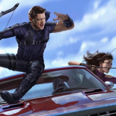 Hawkeye concept art 3