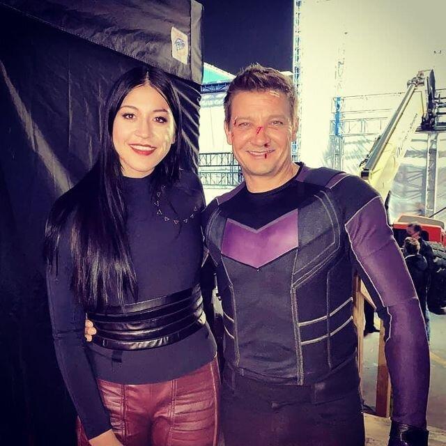 Hawkeye costumes echo