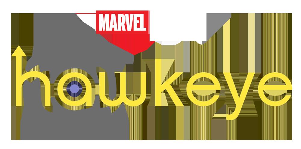 Hawkeye logo blanc