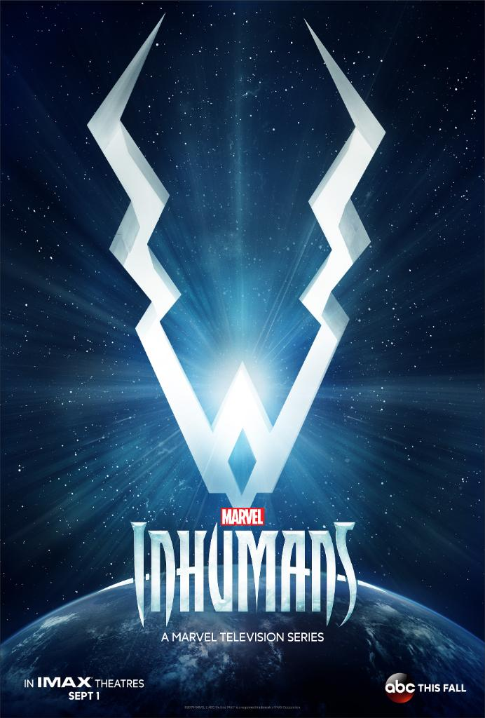 Inhumans s1 first poster