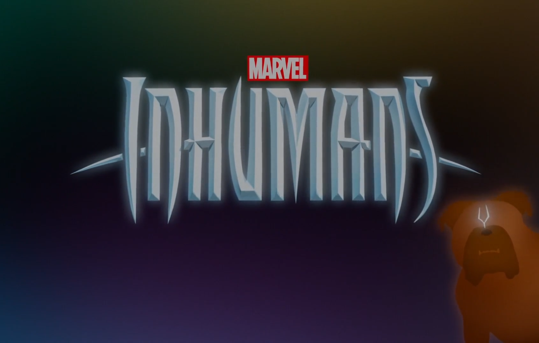 Inhumans title card