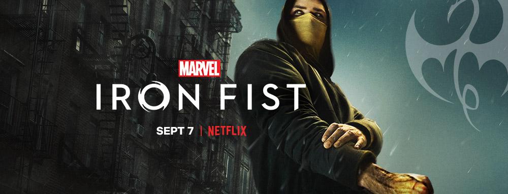 Iron fist season 2 banner