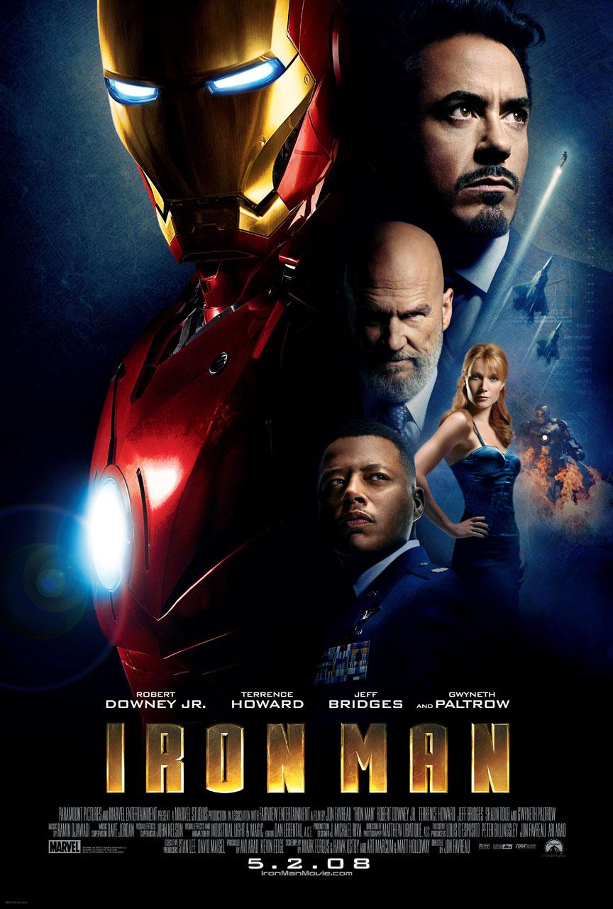 Iron man official poster 1