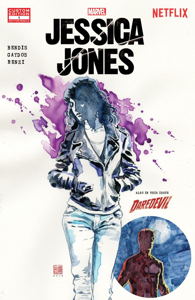 Jessica jones comics cover