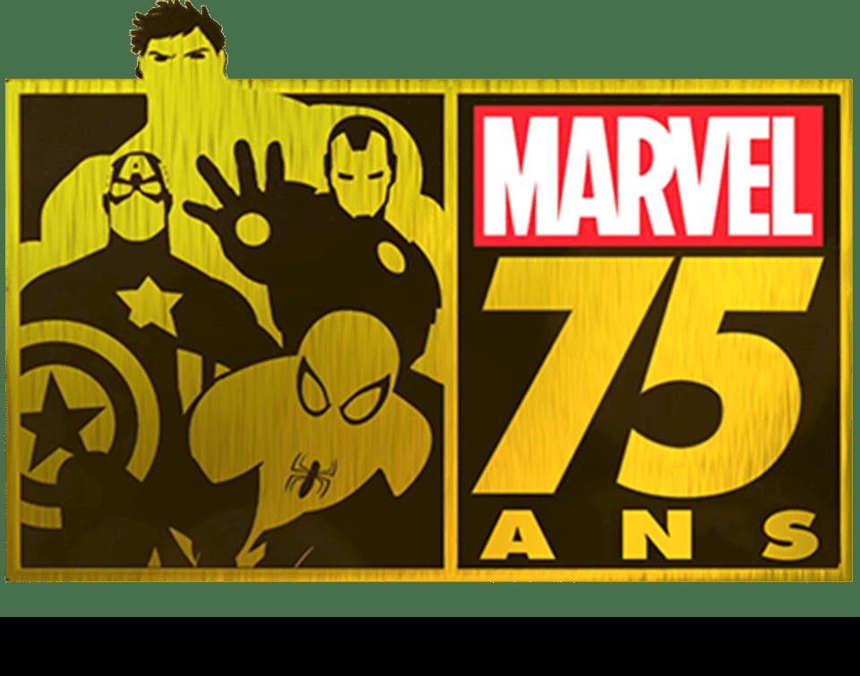 Marvel75ansdupapieraumondeentier logo