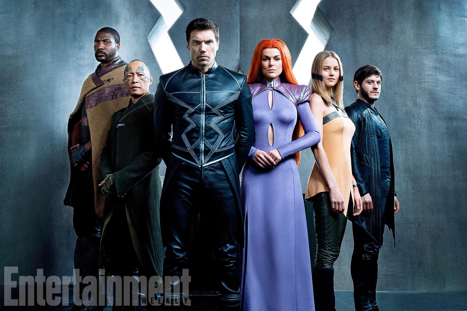 Marvels inhumans first reveal