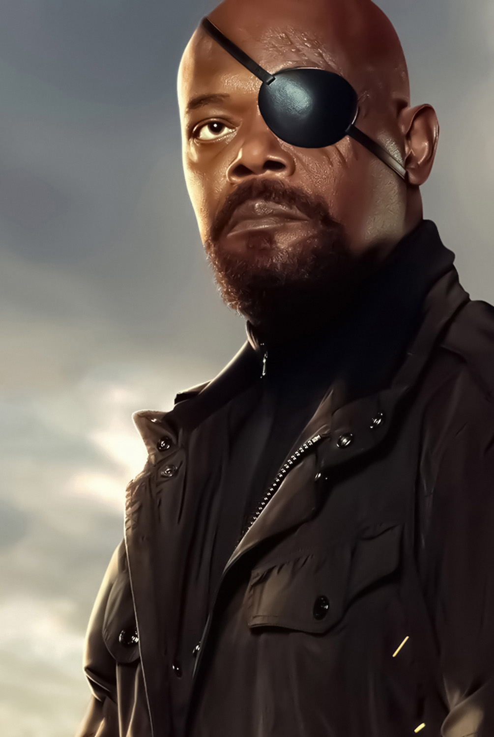 Nick fury ffh textless poster