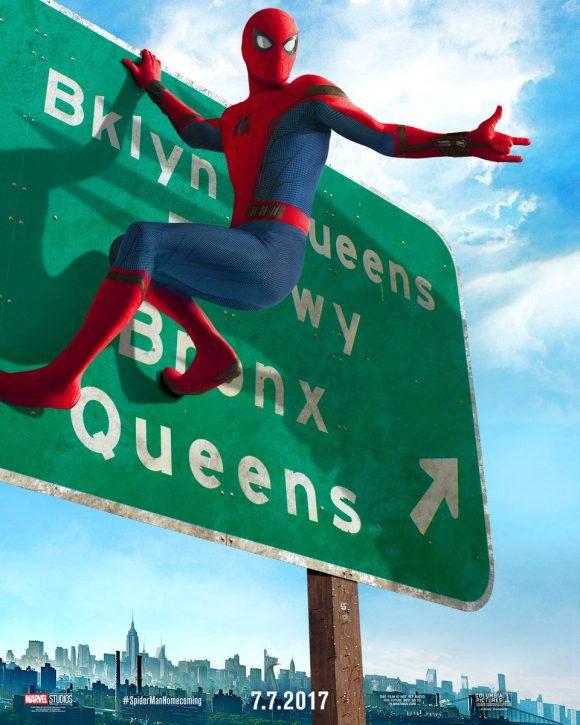 Poster spider man 580x725