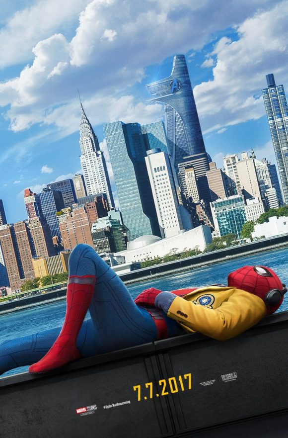 Poster spider man homecoming 580x881