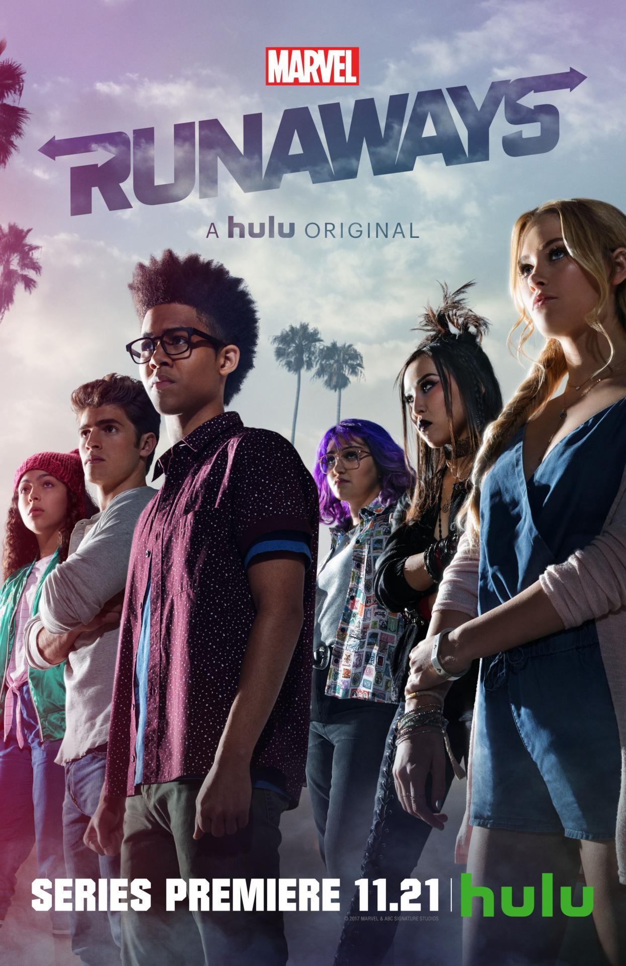 Runaways premiere poster