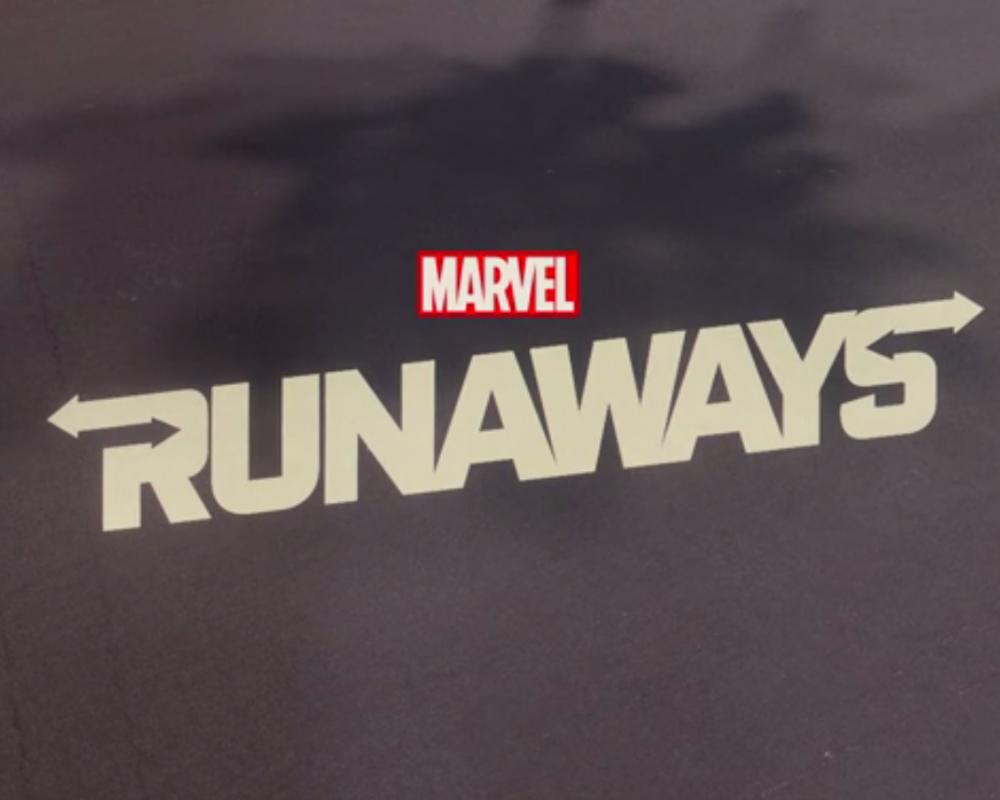 Runaways title card 1
