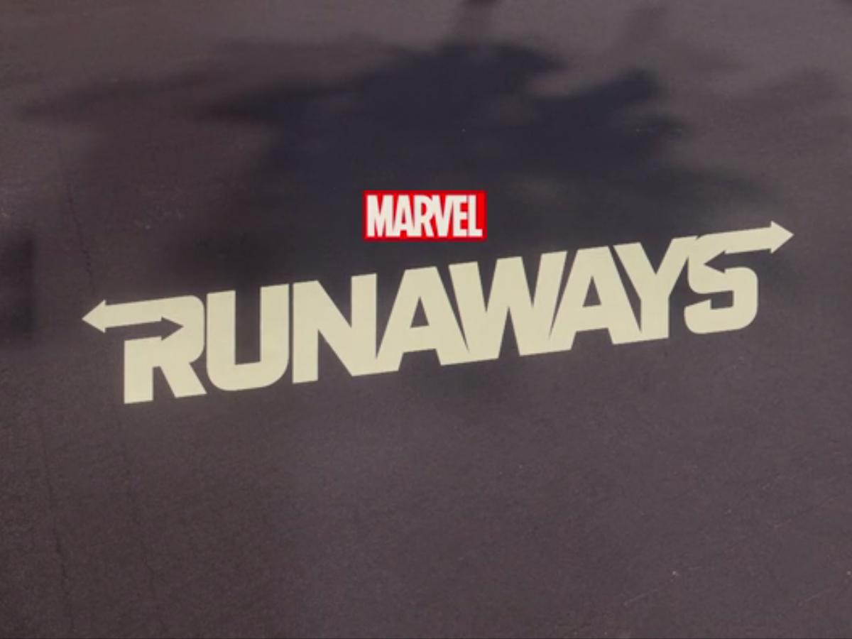 Runaways title card