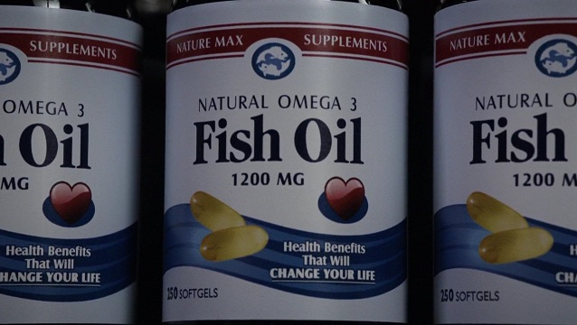Sos terrigen fish oil pills