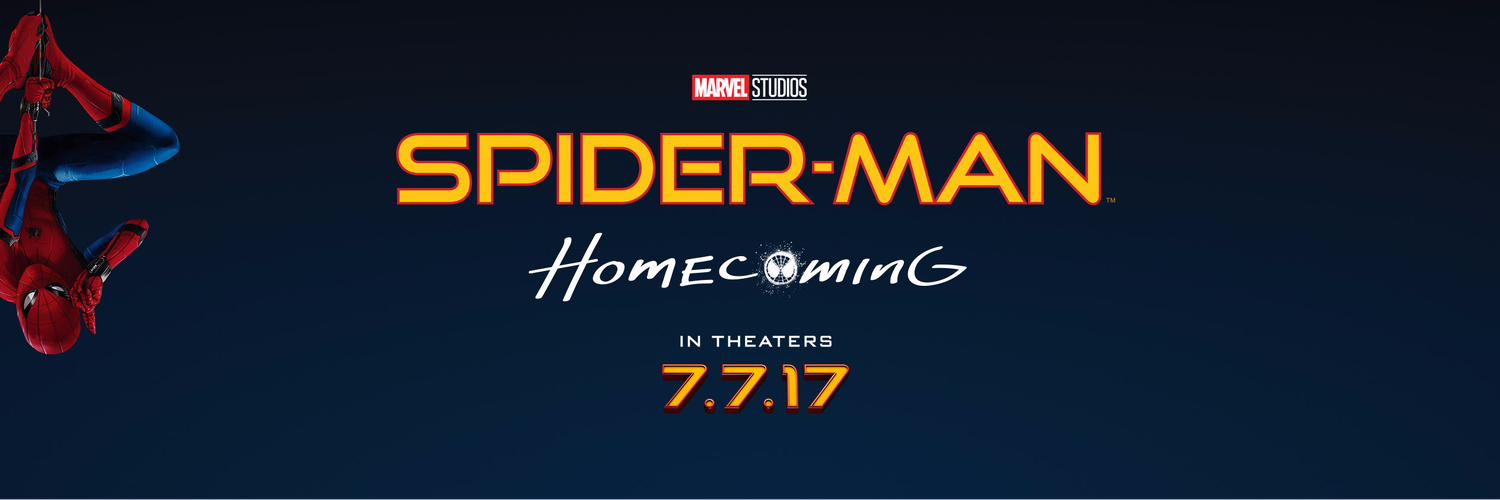 Spider man homecoming banner