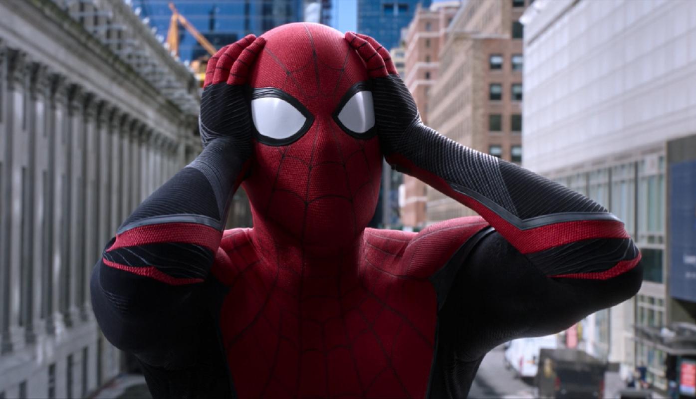 Spider man reaction