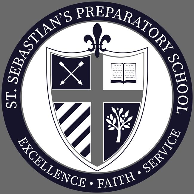 St sebastian preparatory school logo