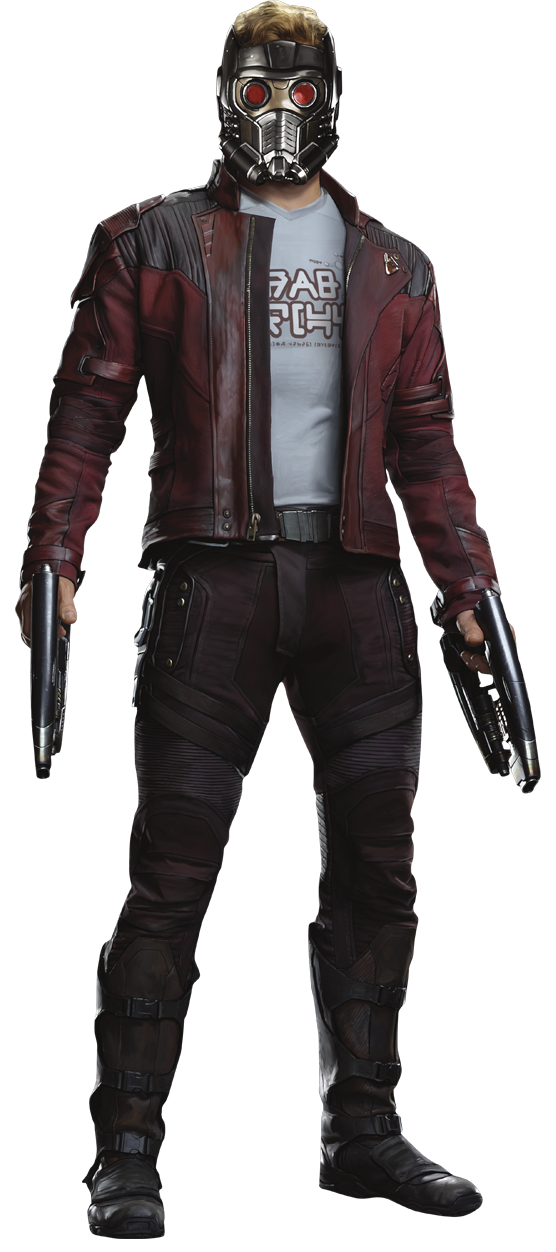 Star lord gotg vol 2 render