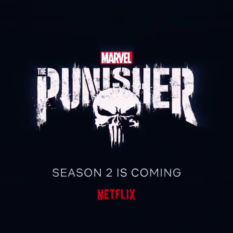 The punisher season 2 announcement