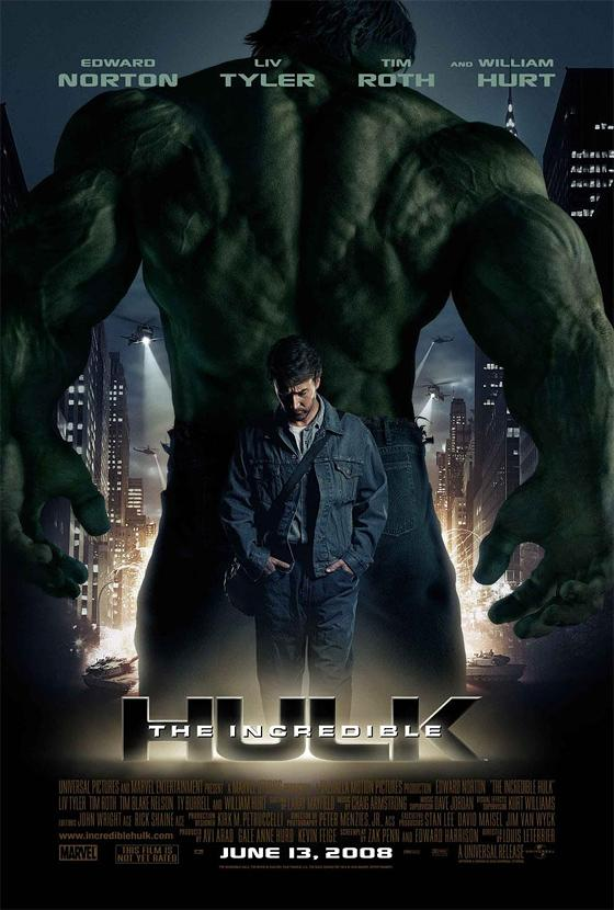 Theincrediblehulk poster