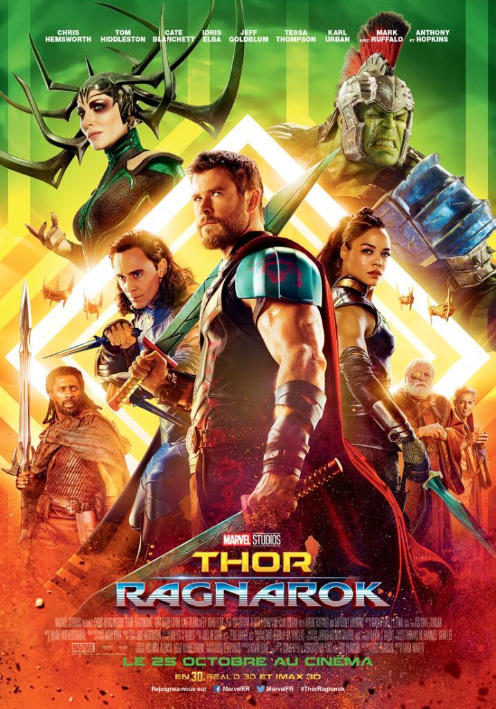 Thor ragnarok affiche francaise