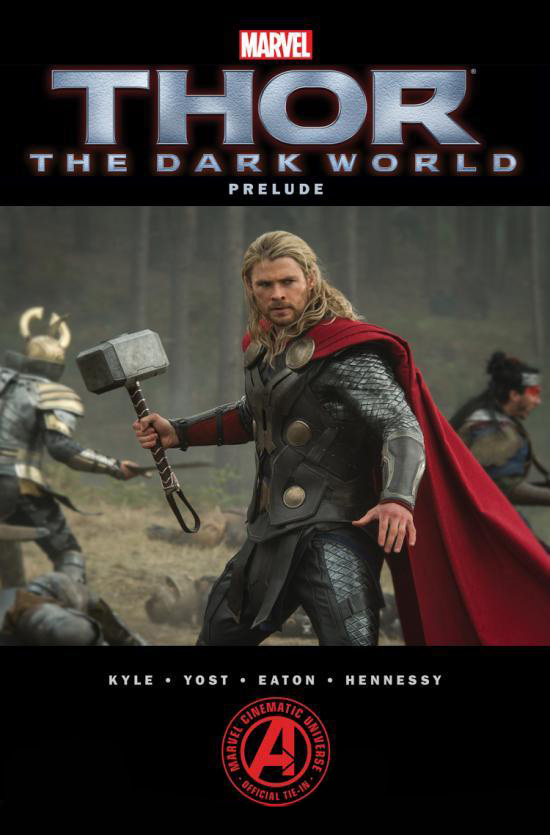 Thor the dark world prelude cover