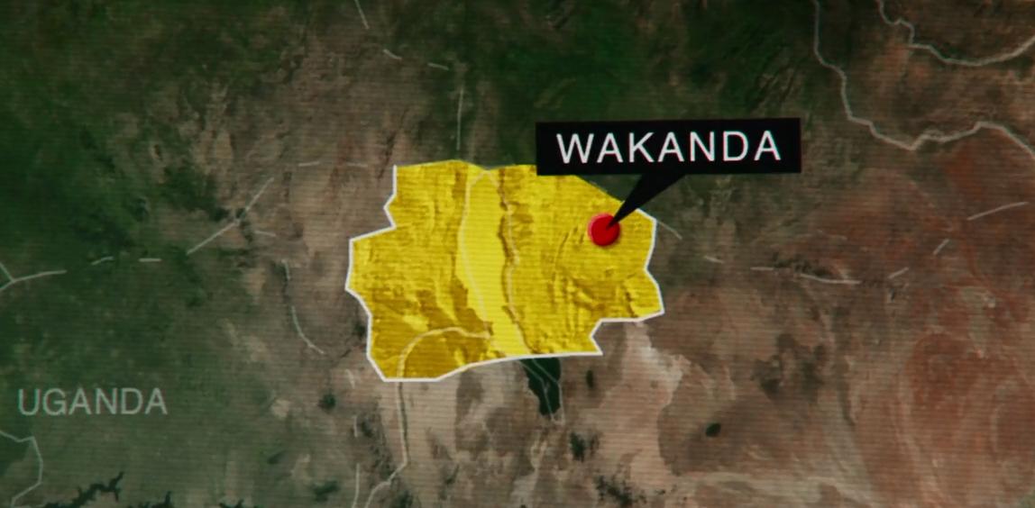 Wakanda on the map cacw