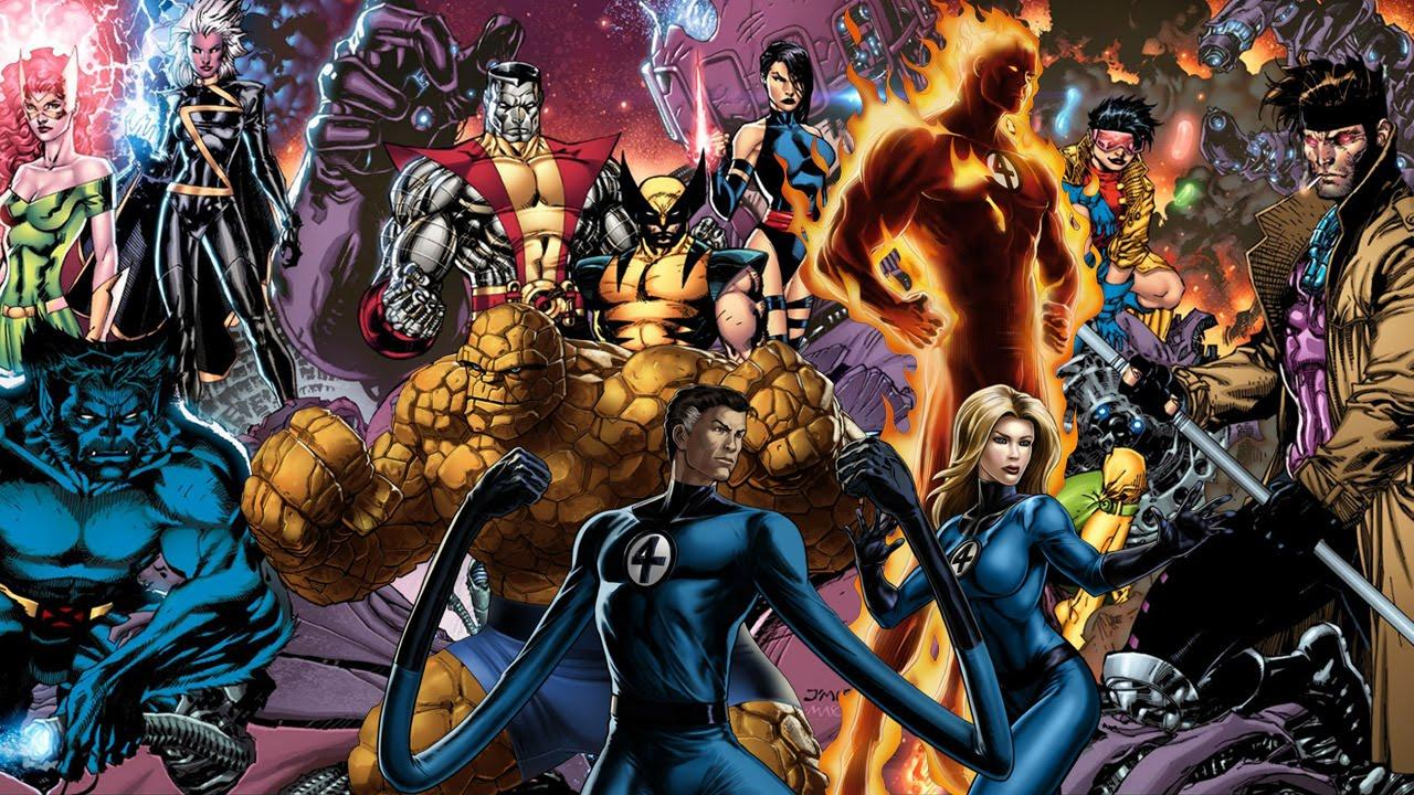 X men crossover fantastic four
